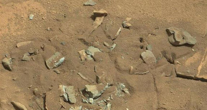 Is that really a thigh bone on Mars? NASA gives predictable answer.