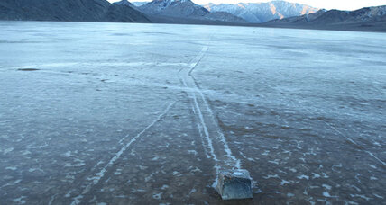 Scientists solve mystery of Death Valley's 'sailing' stones