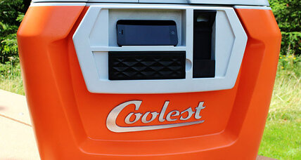 Coolest cooler sets record for most-funded Kickstarter project. Yes, a cooler.