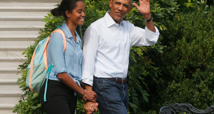 How much does Malia Obama tip? A brush with American royalty.