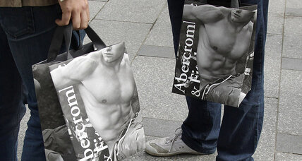 Abercrombie & Fitch sheds once-prized logo from clothing