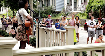 Celebrating music and community from the porch