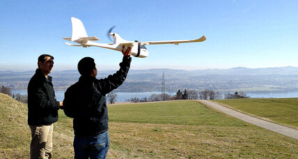 Drones emerge as a conservation tool