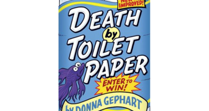 'Death by Toilet Paper' is a poignant story with just enough bathroom humor to captivate kids
