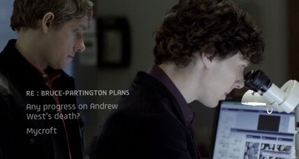 From 'Sherlock' to 'House of Cards,' text messages become characters in film