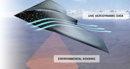 New smart skin for aircraft lets planes 'feel' pain