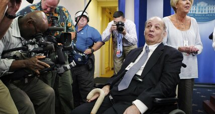 From Our Files: The day James Brady returned to White House briefing room
