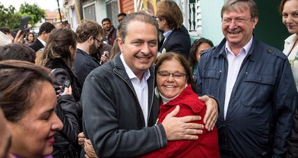 Candidate Campos' death dims Rousseff's reelection hopes
