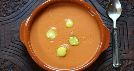 Salmorejo: chilled Spanish tomato soup