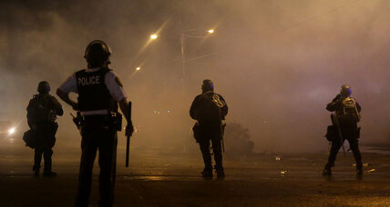 Ferguson: Highway patrol uses tear gas to disperse curfew violators