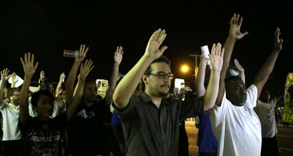 A calmer night in Ferguson: Will the peace last?