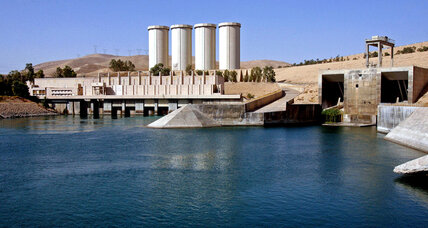 Islamic State militants capture Iraq's largest dam