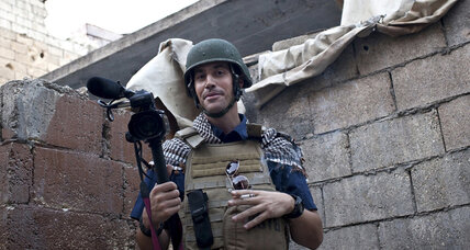 James Foley's murder puts spotlight on journalists in conflict zones (+video)