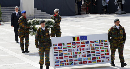 At World War I centenary, leaders say conflict holds lessons for today