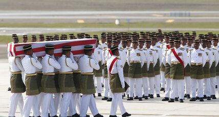 Malaysian victims of MH17 return home