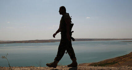 As US steps up air campaign in Iraq, Kurdish forces seize strategic dam