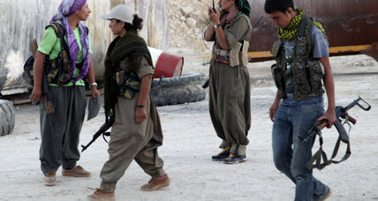 Are the US, France, and UK lining up to support the 'terrorist' PKK in Iraq?