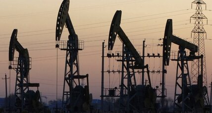 Oil prices drop, raising worries for debt-heavy companies