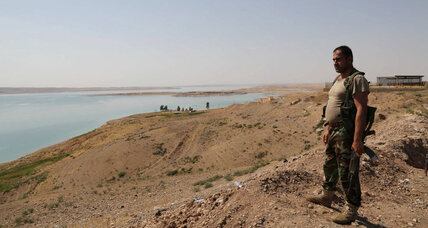 Kurdish forces retake Mosul dam from ISIS