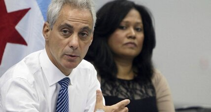 Facing reelection, Chicago Mayor Rahm Emanuel sees falling poll numbers