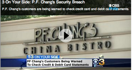 P.F. Chang's data breach hits 33 restaurants in 16 states