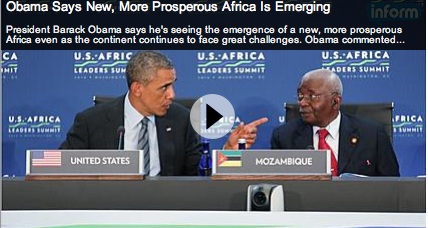 Obama heralds Africa's growth, closes summit