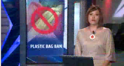 Calif. lawmakers ban plastic bags, struggle to cope with drought