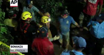 Nicaragua mine collapse: Most of 26 trapped gold miners rescued