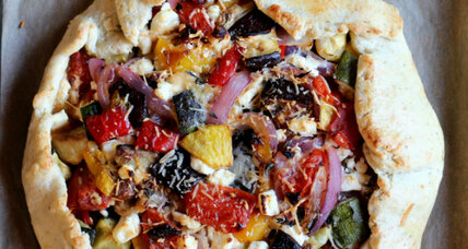 Farmers' market vegetable tart