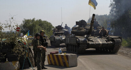 Ukrainian forces on outskirts of rebel-held Donetsk