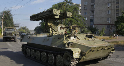 Ukraine army captures part of rebel-held Luhansk