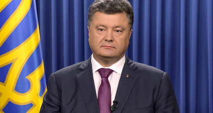 Ukrainian president dissolves parliament ahead of Putin meeting