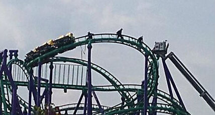 After five hours, all passengers rescued from Six Flags roller coaster