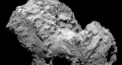 What does comet 67P look like? A giant duck