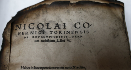 Copernicus book believed to have been destroyed in a library fire is found after 10 years