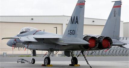 Military pilot did not eject, was killed in Virginia F-15 crash, say investigators