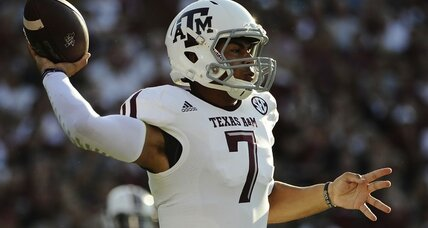 Texas A&M showcases new quarterback in opening win