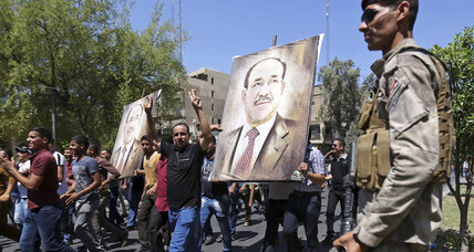 Maliki says he won't give up PM post until Iraqi court rules