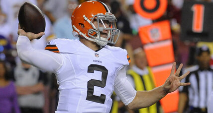 Johnny Manziel fined for obscene gesture during NFL preseason game