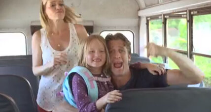 'Baby Got Class' video: Holderness family homage to going back to school