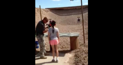 Nine year-old shoots instructor with Uzi: Did the gun fit?