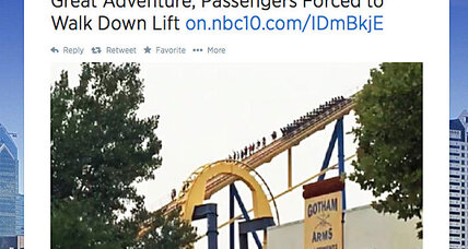 Why Nitro roller coaster riders at Six Flags were forced to climb down