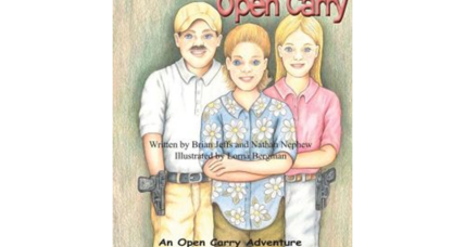 Gun debate comes to children's books