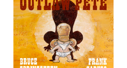 Bruce Springsteen's song 'Outlaw Pete' will be adapted as a children's book