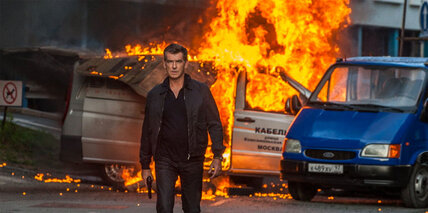 Pierce Brosnan returns to the spy business with 'The November Man'
