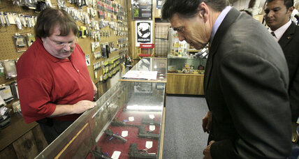 Why Rick Perry can't carry a concealed weapon in Texas
