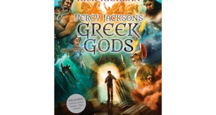 Percy Jackson narrates Greek myths for kids