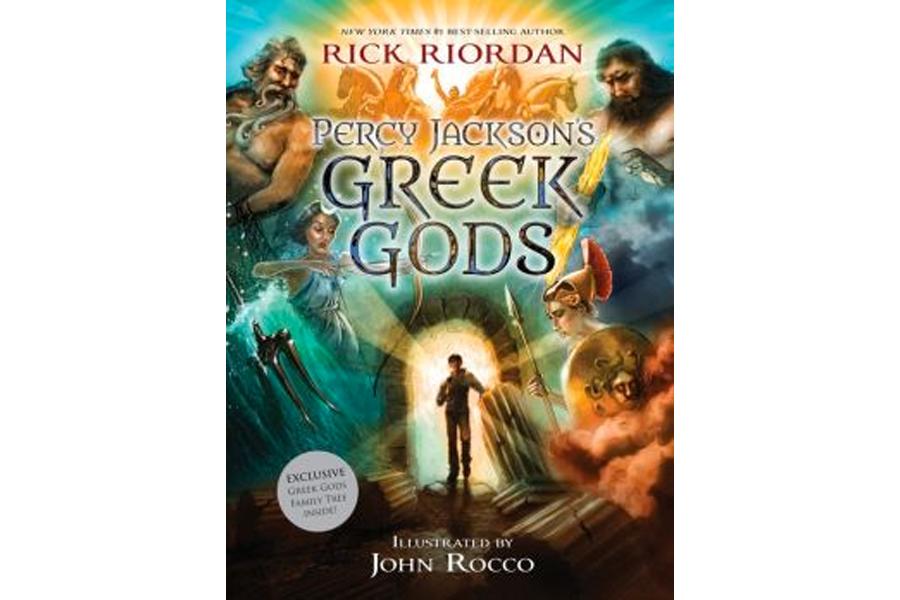 Percy Jackson narrates Greek myths for kids - CSMonitor com