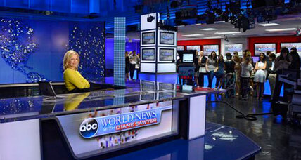 Diane Sawyer signs off as ABC's evening news anchor