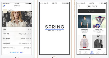New iOS shopping app lets users 'follow' brands of their choosing